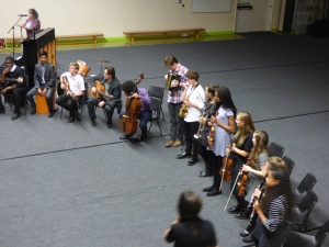 Trinity School Klezmer Band