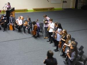 Trinity School Klezmer Band